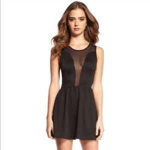 For Love and Lemons Lulu Black Skater Dress XS